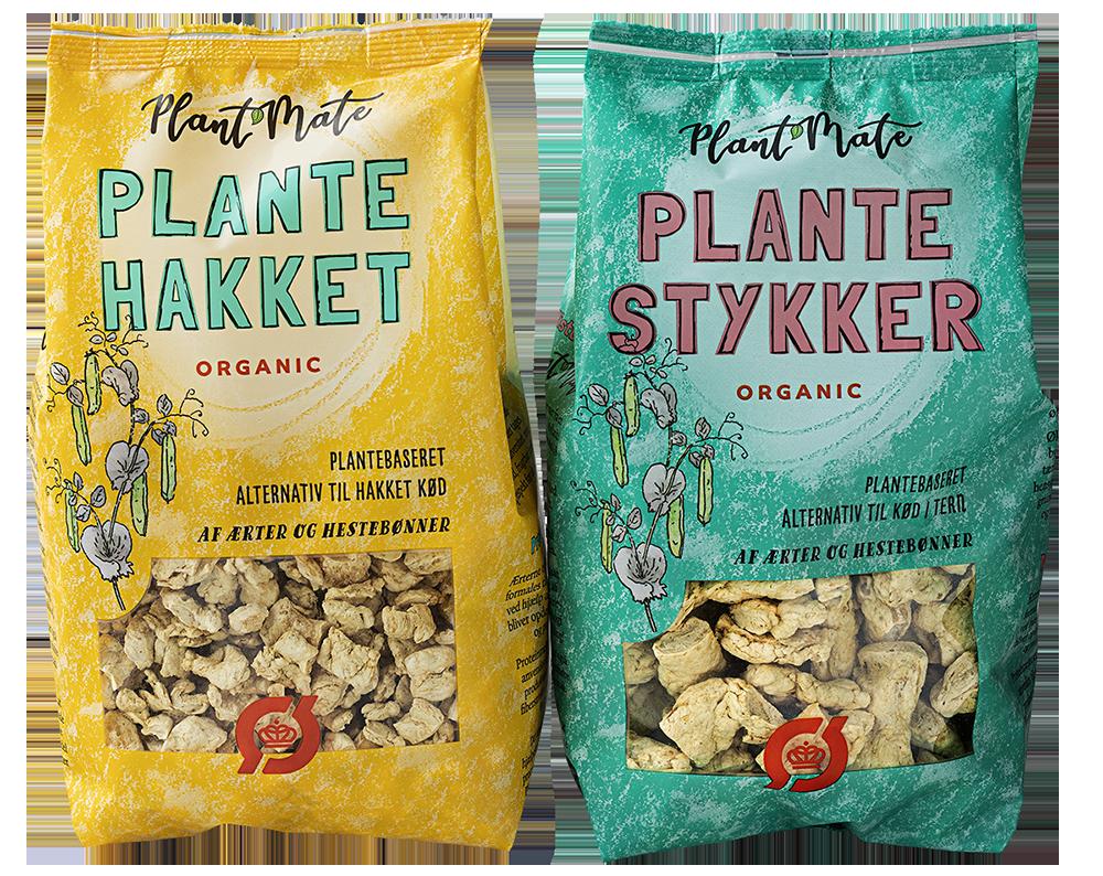 Plantestykker og plantehakket Plant Mate